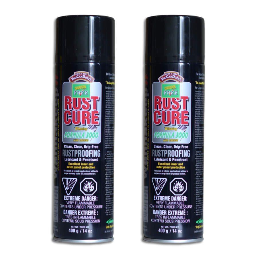 Rust cure 3000 2 aerosol cans