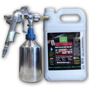 Rust Cure Formula 3000 DIY DELUXE Kit 1 Galon